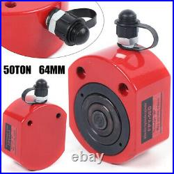 64mm 2.52 Stroke Hydraulic Cylinder Flat Jack Low Profile Ram USA 50Ton