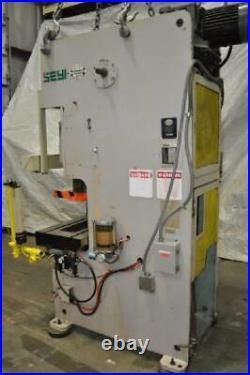 66 Ton Seyi Sutherland Gap Press 3.1 Stroke 10.5 Shut Height 2.8 Ram Adjustme