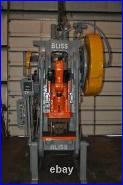 75 TON BLISS OBI PRESS 6 STROKE 3.5 RAM ADJUSTMENT 16 SHUT HEIGHT 30 x 24 B