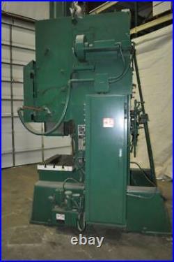 75 Ton Danly Flywheel Type Obi Press 8 Stroke 21 Shut Height 3 Ram Adjustment
