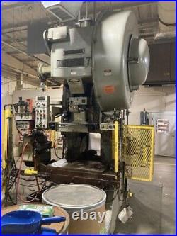 75 Ton Minster OBI Press Stroke 4 inches Ram Adjustment 3.75 Shut Height 21