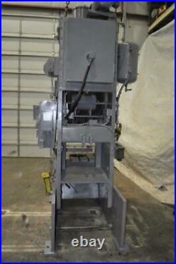 75 Ton Niagara Obi Press 6 Stroke 18 Shut Height 4 Powered Ram Adjustment 37