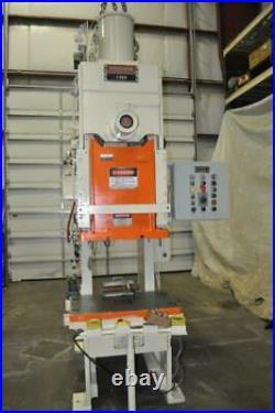 90 Ton Niagara Obi Back Geared Press 9 Stroke 18 Shut Height 4.5 Powered Ram
