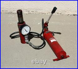 Blackhawk Porto-Power R250, RC-250 20 Ton Threaded Ram w P420 420 Pump 5 Stroke