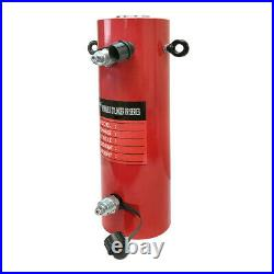 Double Acting 50-Ton Hydraulic Cylinder 12 Stroke Jack Ram 19.35 Closed Height