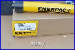 ENERPAC RC57 Steel Hydraulic Ram 5 Ton 7 Stroke Length