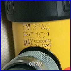ENERPAC RC-101 Hydraulic Ram General Purpose Body Steel 10 ton Stroke L 1