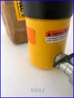 Enerpac RCH 121 Hydraulic Holl-O-Ram Cylinder 12 Ton Capacity 1 Stroke