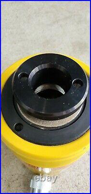 Enerpac RCH-202 Hydraulic CYLINDER Hollow Ram 20 Ton 2 Stroke 10000psi