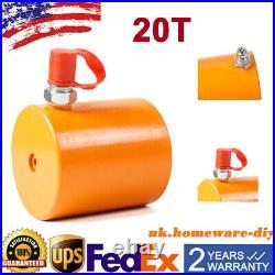 Heavy Duty 20 Tons 45mm stroke Hydraulic Cylinder Jack Ram Durable Low Height
