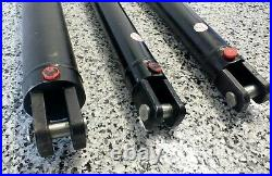 Hydraulic Cylinder Ram 2.5 Inch Bore Various Strokes Aust Made 6 Ton At 2700 Psi