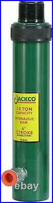 Jackco 10 Ton 6 Stroke Hydraulic Ram Free Shipping