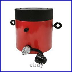 Lock Nut 100-Ton Hydraulic Cylinder 6 Stroke Jack Ram 11 Closed Height
