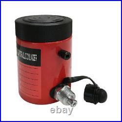 Lock Nut 10-Ton Hydraulic Cylinder 2 Stroke Jack Ram 6 Closed Height