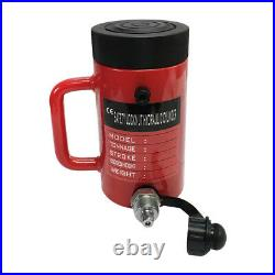 Lock Nut 10-Ton Hydraulic Cylinder 6 Stroke Jack Ram 10 Closed Height