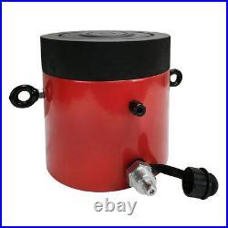 Lock Nut 150-Ton Hydraulic Cylinder 6 Stroke Jack Ram 12.25 Closed Height