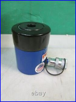 OTC 4120A Hydraulic Ram Cylinder Hollow Center 17.5 Ton 2 Stroke with Adapter NEW