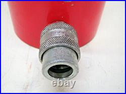 Power Team C552C 55 Ton 2 Stroke Hydraulic Ram Cylinder Used Free Shipping