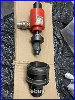 Ridgid No 8R111S Hydraulic Ram 11 Ton 1 Stroke