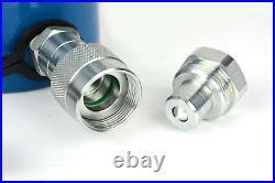 TEMCo HC0019 Hydraulic Cylinder Ram Single Acting 100 TON 4 Inch Stroke