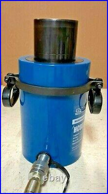 TEMCo Hollow Hydraulic Cylinder Ram 60 TON 2 In Stroke