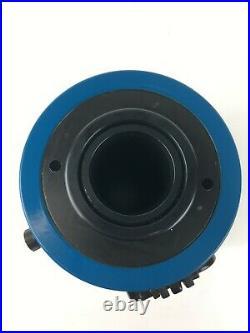 TEMCo Hollow Hydraulic Cylinder Ram 60 TON 4 In Stroke 1 YEAR Warranty