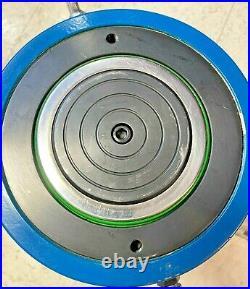 Temco Hc0024 Hydraulic Cylinder Ram Single Acting 200 Ton 2 Inch Stroke