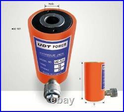 UDT POWER UC-101 70 x 120mm Hydraulic Center Ram Jack Tons 10T Stroke 40mm