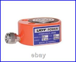 UDT POWER ULS-300 114.5 x 63mm Hydraulic Short Ram Tons 30T Stroke 13mm