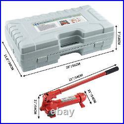 VEVOR 6 Ton Porta Power Hydraulic Jack Body Frame Repair Kit 5 Stroke Lift Ram