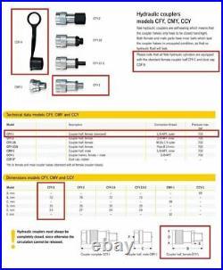 Yale YS 15 Ton / 25mm Stroke Hydraulic Cylinder / Ram 700Bar (Fits Enerpac)